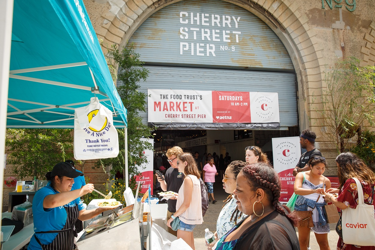 The Food Trust's Market at Cherry Street Pier Presented by